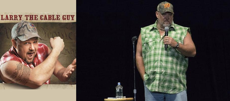 Larry The Cable Guy at Gila River Casinos