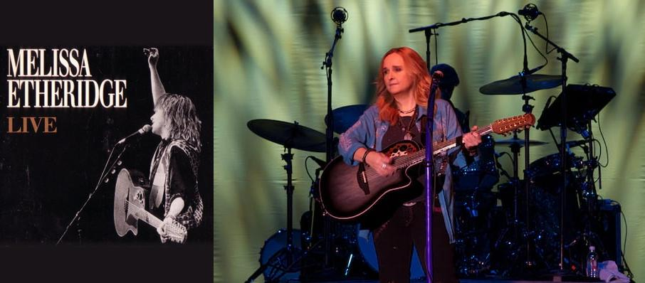 Melissa Etheridge at Chandler Center for the Arts