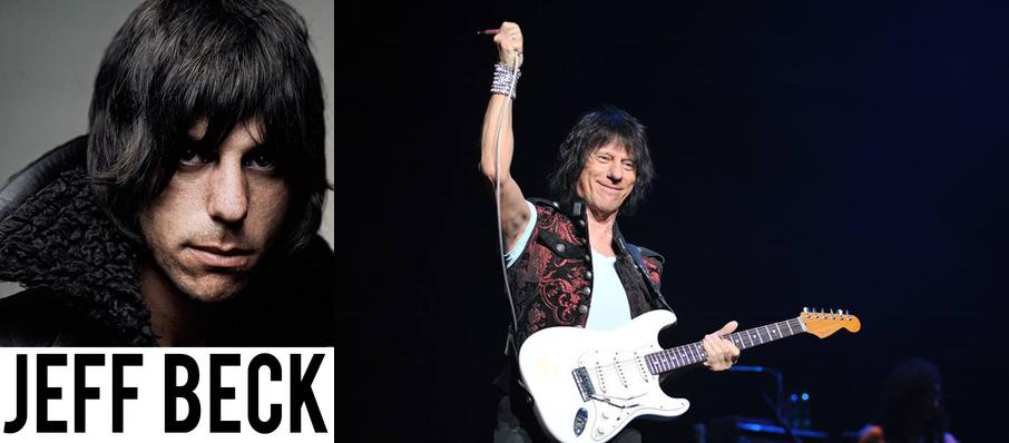 Jeff Beck at Celebrity Theatre