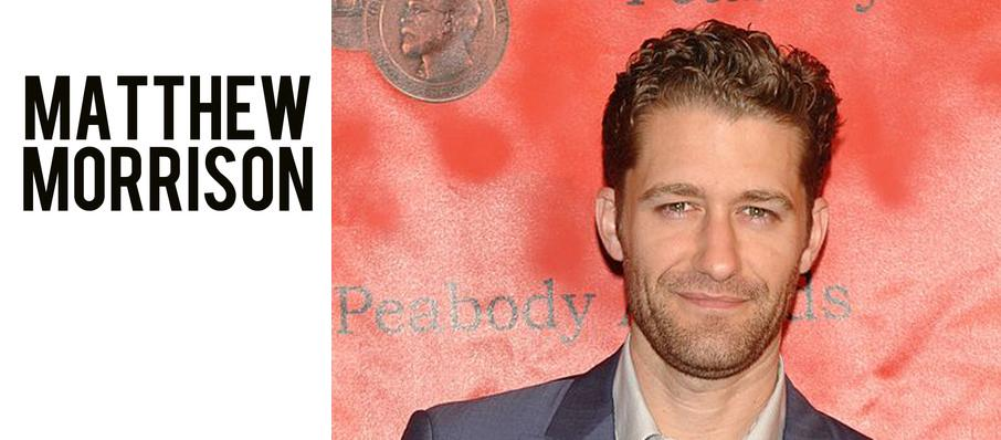Matthew Morrison at Phoenix Symphony Hall