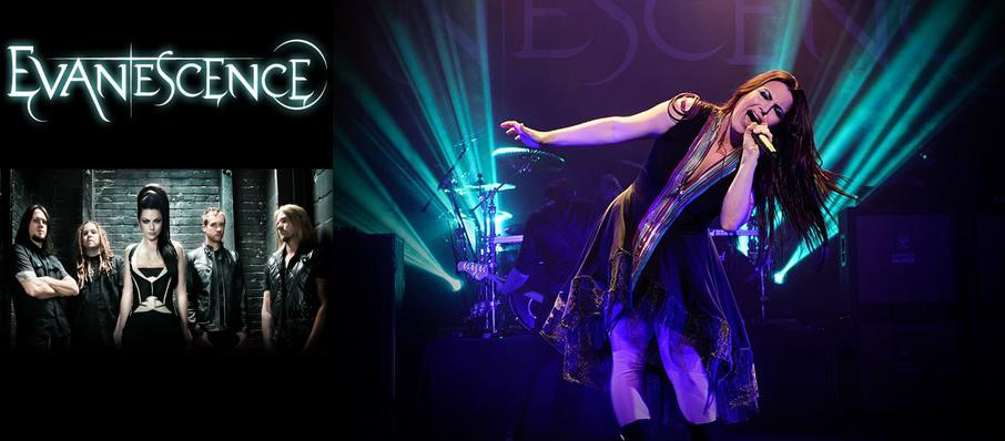 Evanescence at Comerica Theatre