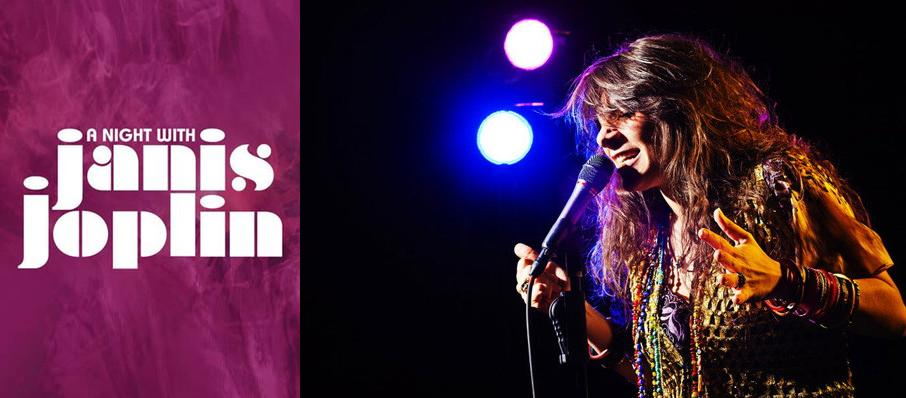 A Night with Janis Joplin at Celebrity Theatre