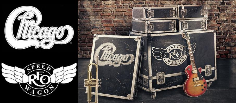 Chicago & REO Speedwagon at Ak-Chin Pavillion