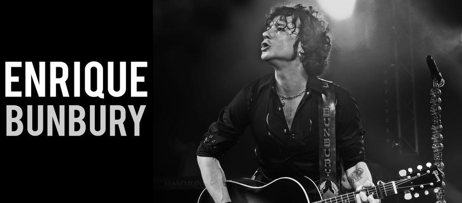 Enrique Bunbury at The Van Buren