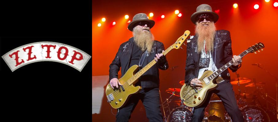 ZZ Top at Comerica Theatre