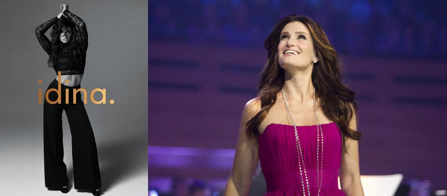 Idina Menzel at Comerica Theatre