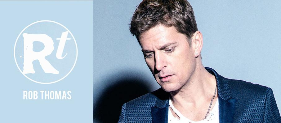 Rob Thomas at The Van Buren