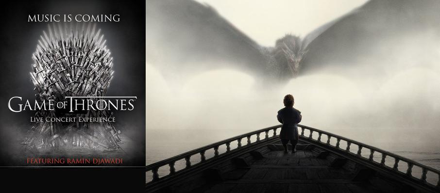 Game of Thrones Live Concert Experience: Ramin Djawadi at Gila River Arena