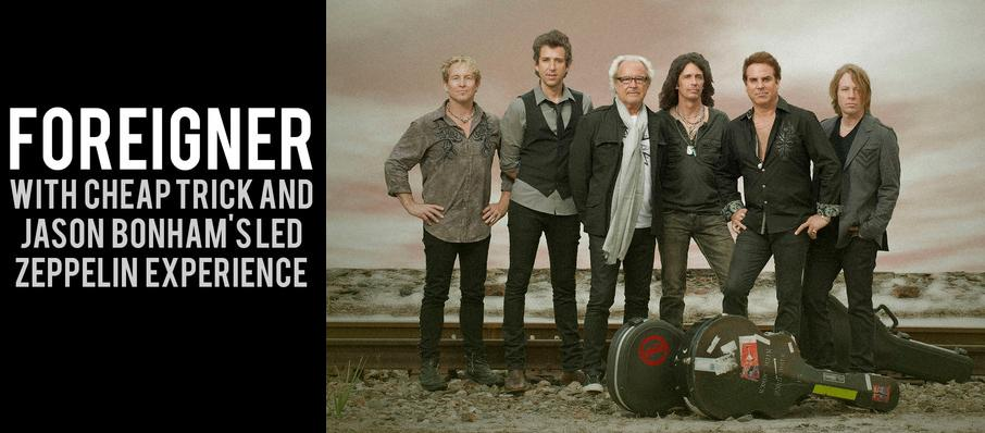 Foreigner with Cheap Trick and Jason Bonhams Led Zeppelin Experience at Ak-Chin Pavillion
