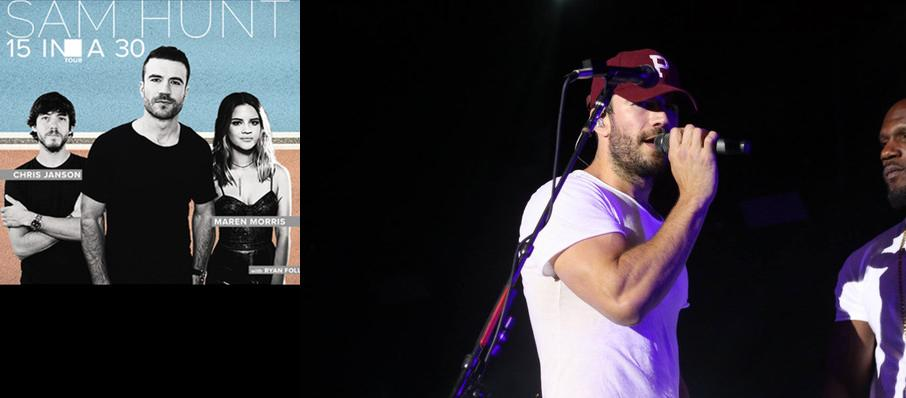Sam Hunt With Maren Morris at Ak-Chin Pavillion