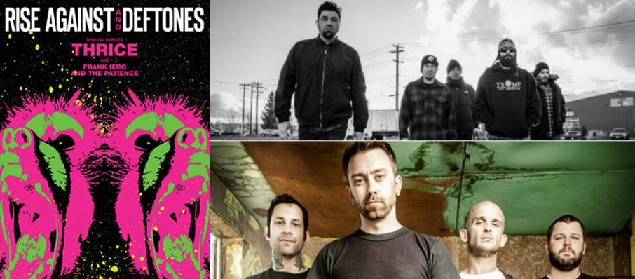 Deftones with Rise Against at Ak-Chin Pavillion