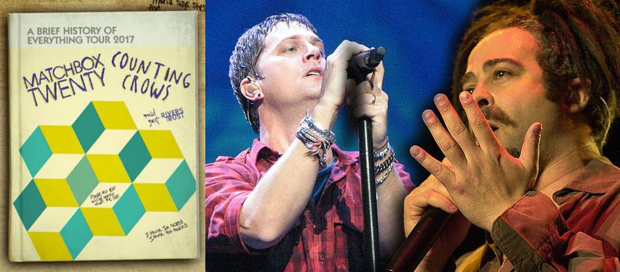 Matchbox Twenty and Counting Crows at Ak-Chin Pavillion