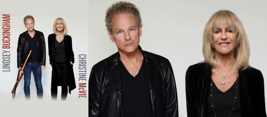 Lindsey Buckingham and Christine McVie at Comerica Theatre