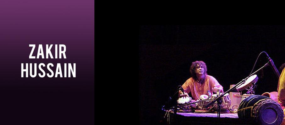 Zakir Hussain at Music Theater