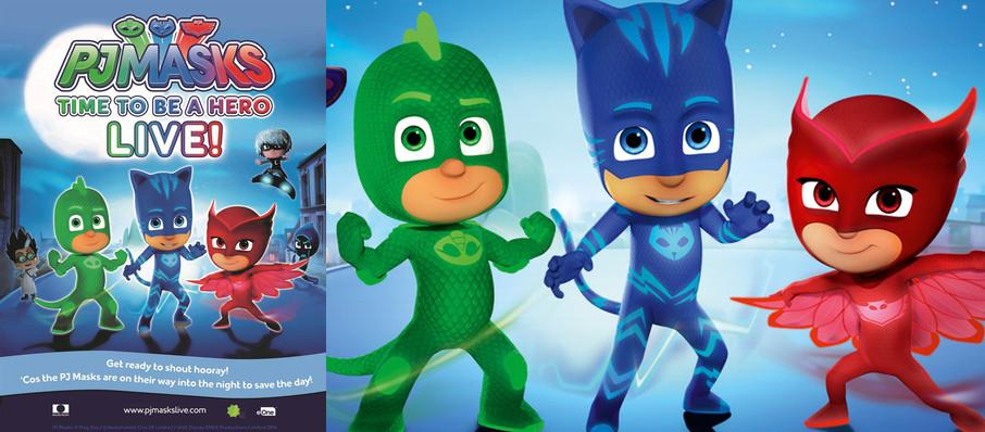 PJ Masks Live! Time To Be A Hero at Comerica Theatre