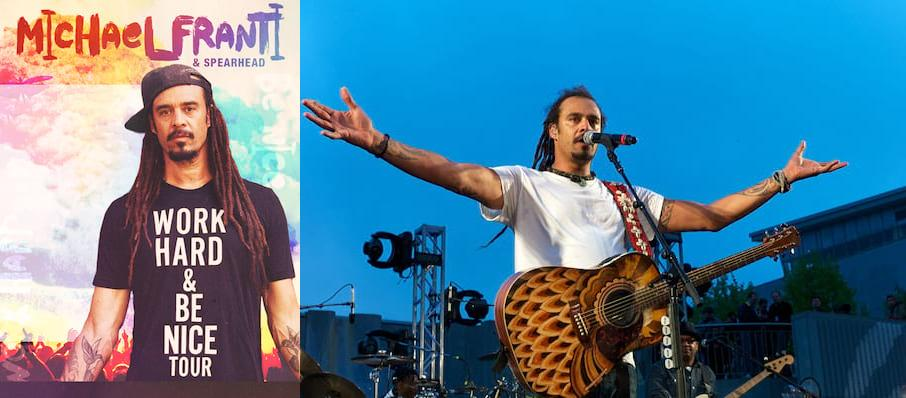 Michael Franti and Spearhead at Mesa Amphitheatre