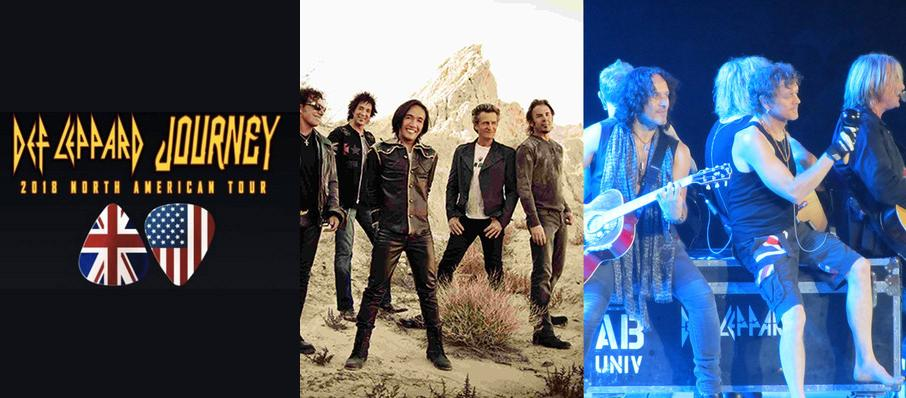 Journey and Def Leppard at Talking Stick Resort Arena
