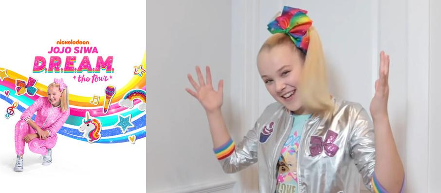 Jojo Siwa at Comerica Theatre