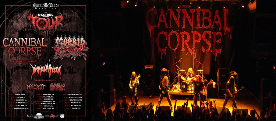 Cannibal Corpse at The Pressroom