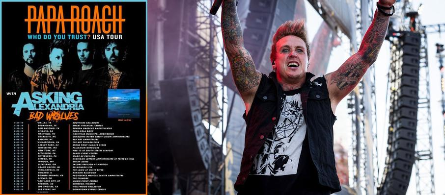Papa Roach at Comerica Theatre