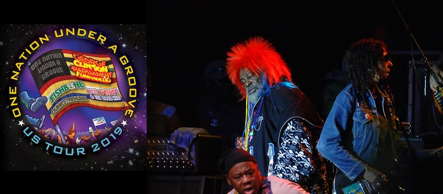 George Clinton and Parliament Funkadelic at Celebrity Theatre