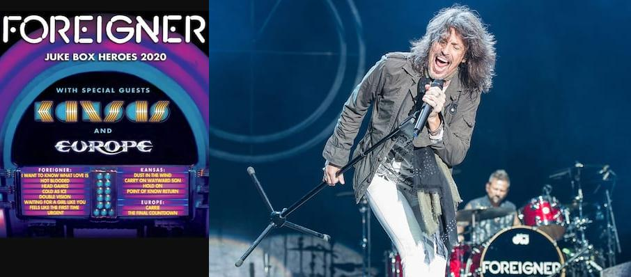 Foreigner with Kansas at Ak-Chin Pavillion