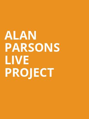 Alan Parsons Live Project at Celebrity Theatre