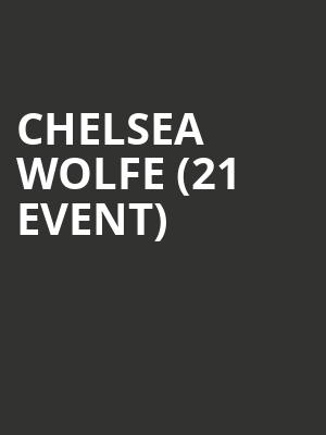 Chelsea Wolfe (21+ Event) at The Crescent Ballroom