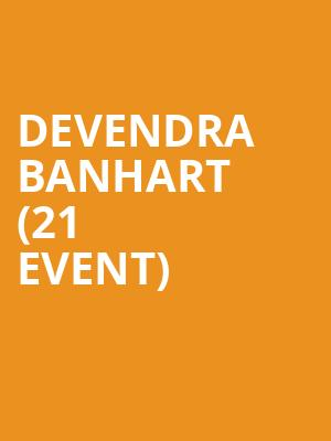 Devendra Banhart (21+ Event) at The Crescent Ballroom