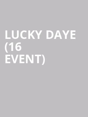 Lucky Daye (16+ Event) at The Rebel Lounge