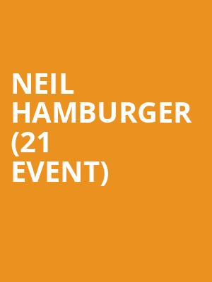 Neil Hamburger (21+ Event) at The Crescent Ballroom