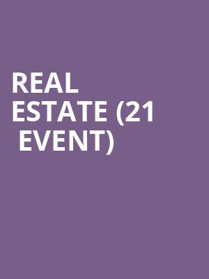 Real Estate (21+ Event) at The Crescent Ballroom