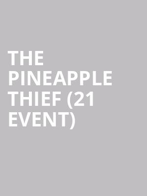 The Pineapple Thief (21+ Event) at The Crescent Ballroom