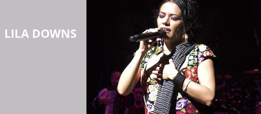 Lila Downs, Music Theater, Phoenix