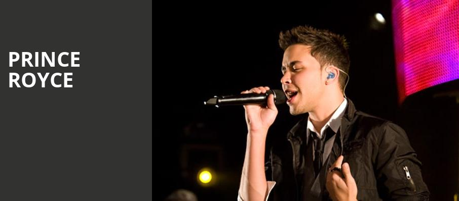 Prince Royce, Arizona Federal Theatre, Phoenix