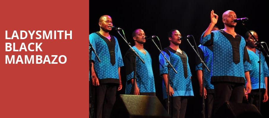 Ladysmith Black Mambazo, Chandler Center for the Arts, Phoenix