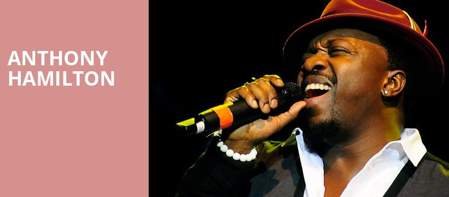 Anthony Hamilton, Celebrity Theatre, Phoenix