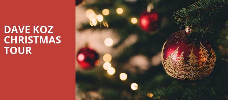 Dave Koz Christmas Tour, Ikeda Theater, Phoenix