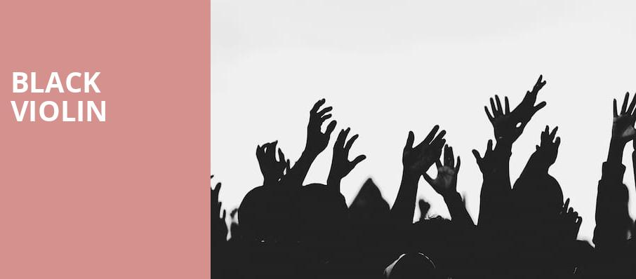 Black Violin, Chandler Center for the Arts, Phoenix