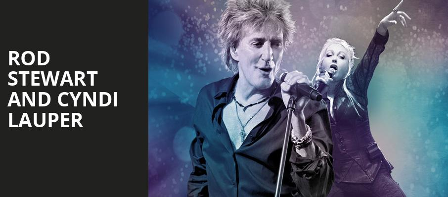 Rod Stewart and Cyndi Lauper, Talking Stick Resort Arena, Phoenix