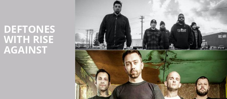 Deftones with Rise Against, Ak Chin Pavillion, Phoenix