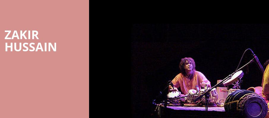 Zakir Hussain, Music Theater, Phoenix