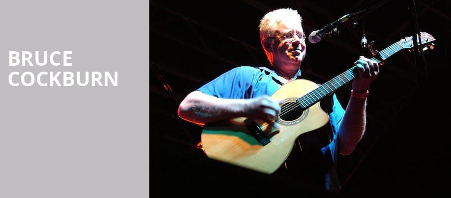 Bruce Cockburn, Music Theater, Phoenix