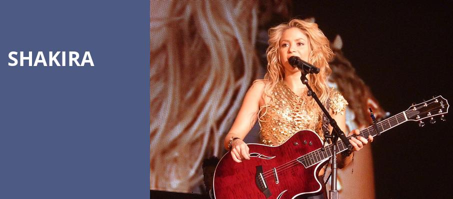 Shakira, Talking Stick Resort Arena, Phoenix