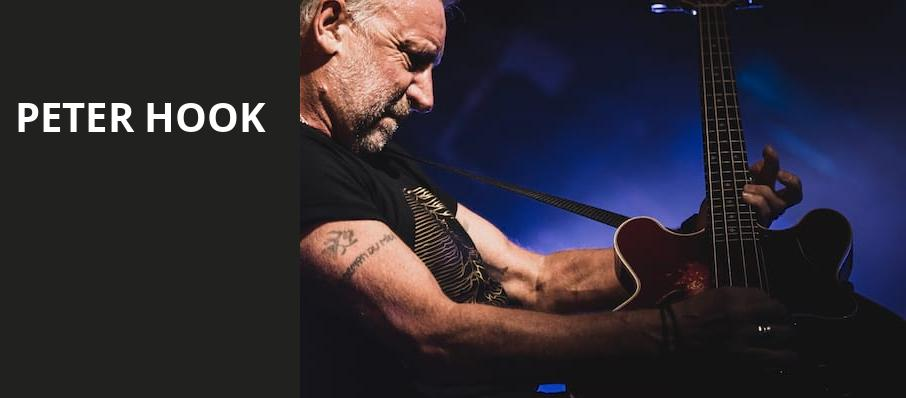 Peter Hook, The Van Buren, Phoenix