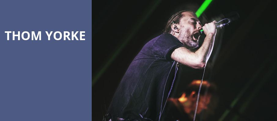 Thom Yorke, Arizona Federal Theatre, Phoenix