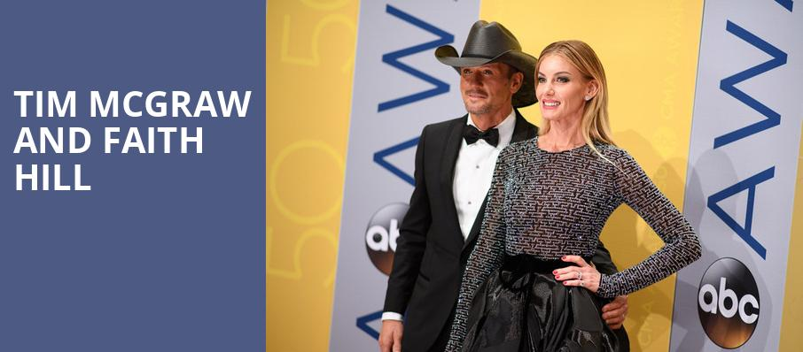 Tim McGraw and Faith Hill, Talking Stick Resort Arena, Phoenix