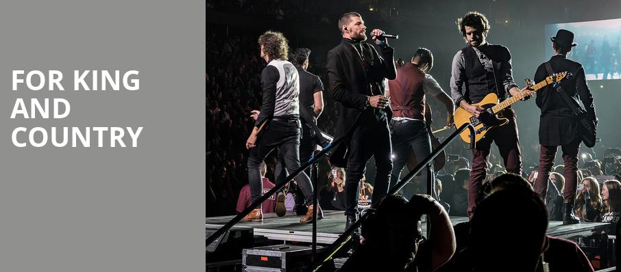 For King And Country, Gila River Arena, Phoenix
