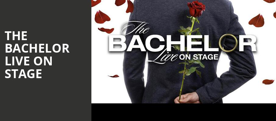 The Bachelor Live On Stage, Ikeda Theater, Phoenix