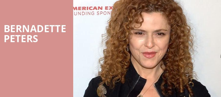 Bernadette Peters, Chandler Center for the Arts, Phoenix
